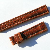 Breitling Wings Croco Band Strap 19/16mm Braun Brown Np 550,00...