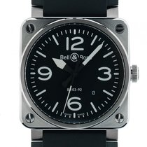 Bell & Ross Aviation BR 03-92 Stahl Automatik Armband...