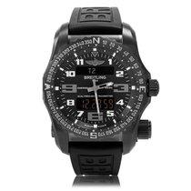 Breitling Professional Emergency II Black Quartz Mens Watch...