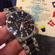 Corum Admiral's Cup regatta limited 44mm carbon  Full set