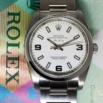 Rolex Air-King Stainless Steel 34mm Mens Automatic Watch...