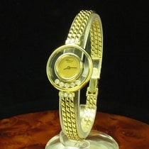 Chopard Happy Diamonds 18kt Gold Damenuhr Mit Brillant Besatz