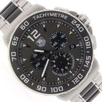 TAG Heuer Formula 1 Anthracite Sunray Dial Ceramic Bezel Mens...
