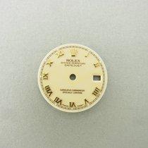 Rolex Datejust Lady Gold 26 Mm Zifferblatt Beige Roman Dial...