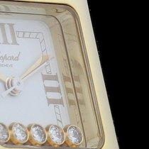 Chopard Happy Sport Square Ladies 5 Diamonds 18kt Gelbgold |...