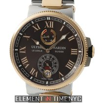 Ulysse Nardin Marine Collection Chronometer Steel & Rose...