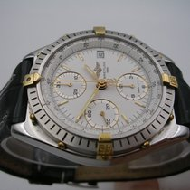 Breitling Chronomat B13047 Steel Gold Box & Papers