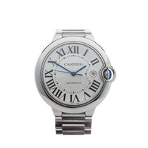 Cartier Ballon Bleu Stainless Steel Gents 3001 or W69012Z4 -...