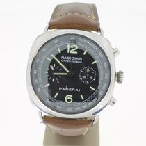 Panerai Radiomir Chronograph Steel BlackDial (B&P2008) 45mm
