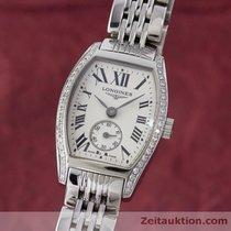 Longines Lady Evidenza Edelstahl Damenuhr Diamanten Ref. L2.175.0