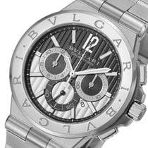 BVLGARI ブルガリ ディアゴノ カリブロ304 クロノ 自動巻き メンズ 腕時計 DG42BSSDCH