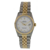 Rolex Oyster Perpetual Datejust 16233 18k Yellow Gold & SS