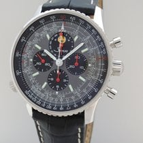 Sinn Navigations- Chronograph Mondphase Lemania 903 H4...