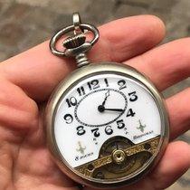 Hebdomas Pocket Watch Manuale tasca silver 8 giorni 8 days