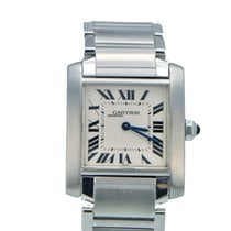 Cartier Tank Francaise Stainless Steel Midsize Quartz