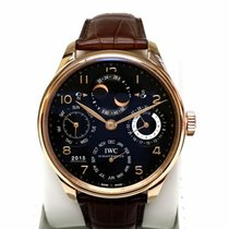 IWC PORTUGUESE PERPETUAL CALENDAR 18K Red Gold 44.2mm [New]
