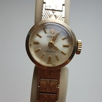 Rolex Precision Vintage Solid Gold 9K Woman