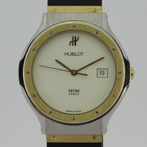 Hublot MDM Depose 18K Gold and Steel Quartz 1521.2