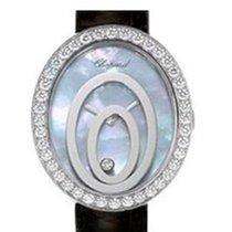 Σοπάρ (Chopard) Happy Spirit Oval 18K White Gold Diamonds...