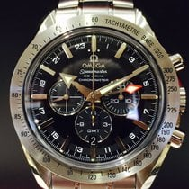 Ωμέγα (Omega) Speedmaster Broad Arrow GMT Co-Axia Chronograph