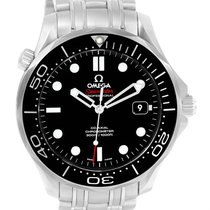 歐米茄 (Omega) Seamaster Black Dial Watch 212.30.41.20.01.003 Box...