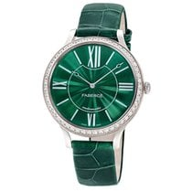 Fabergé White Gold Flirt 39mm - Green Dial