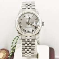 Rolex Ladys-Datejust 31mm 178274 Silver Face Box &...