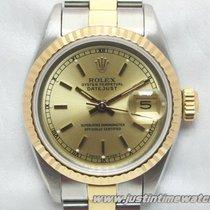Rolex Oyster DateJust 69173 Lady 26mm quadrante oro full set