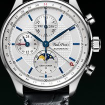 Paul Picot GENTLEMENT MOON PHASE chronograph  cash steel