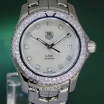 TAG Heuer Link Lady Mother Of Pearl Full Diamonds