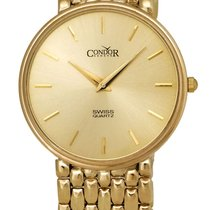 Condor 14kt Gold Mens Luxury Swiss Watch GS21001