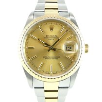Rolex Date 15223 gold and steel