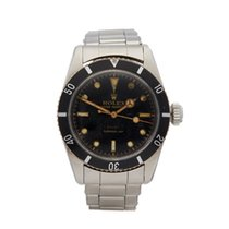 "Rolex Submariner ""Red Depth"" Units Only Stainless Steel 6538 -..."