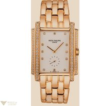Patek Philippe Gondolo 18K Yellow Gold Diamonds Ladies Watch