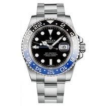 Rolex GMT Master II 116710BLNR Ceramic Black & Blue Bezel...