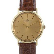 Baume & Mercier Ladies Yellow Gold Watch MOAO4793