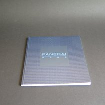 Panerai Model Catalogue 2002 Small Model