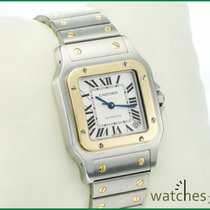 Cartier Santos Galbee XL Automatik 32x45mm Steel Gold