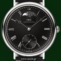 IWC Vintage Portofino 5448 Manual Winding 46mm Moonphase B&P
