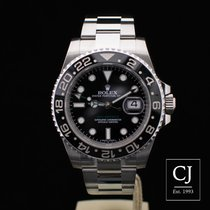 Rolex GMT-Master II Ceramic Bezel Black Dial Stainless Steel