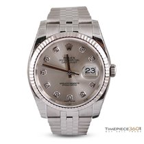 Rolex Datejust 36 Steel & White Gold