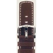 Hirsch Uhrenarmband Mariner Kalbsleder braun L 14502110-2-22 22mm
