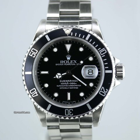 rolex submariner steel f r kaufen von einem seller. Black Bedroom Furniture Sets. Home Design Ideas