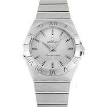 Omega 123.10.24.60.02.001 Constellation Mini Women's Steel...