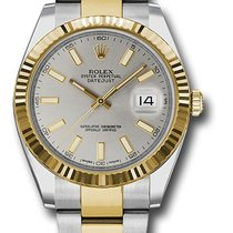 Rolex Unworn 126333SIO Datejust 41mm - Steel and Yellow Gold -...