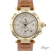 Cartier Pasha GMT Power Reserve Yellow Gold