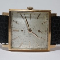 "Zenith Stellina"" -- men's wristwatch -- Era: 1950/60"""