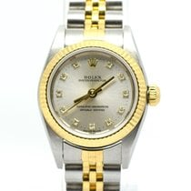 Rolex Lady Oyster Perpetual  76193 Factory Diamond Dial