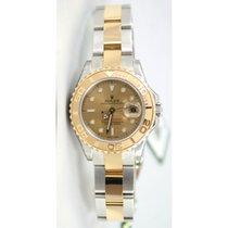 Rolex Yachtmaster 169623 Ladies Steel & 18K Yellow Gold...