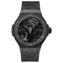 Hublot Big Bang Black Jaguar White Tiger Foundation All Black